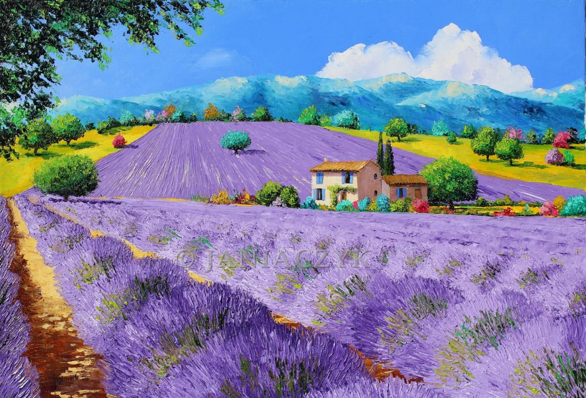 "Return to the page ""lavender fields"""